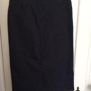 Christopher & Banks Skirts - Women's Black Skirt
